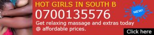 Nairobi sexy girls offering sweet and erotic massage